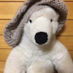 アルパカ毛糸でクンスト編み?のベレー帽