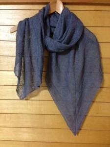 banana leaf shawl