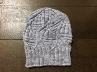 Wonky Rib Hat(レディースサイズMの縮小版)
