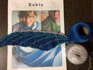 robinを編み直し