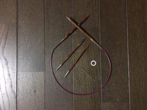 【無料編み図】ライトトートバッグ(道具)