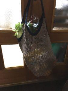 グレイスフルリネン でWeekend Market Bag